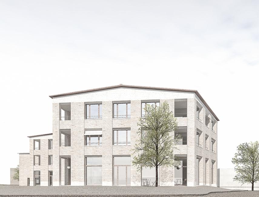 180530_Strassenecke_Bild für Hasler Maddalena Architekten, Mai 2018