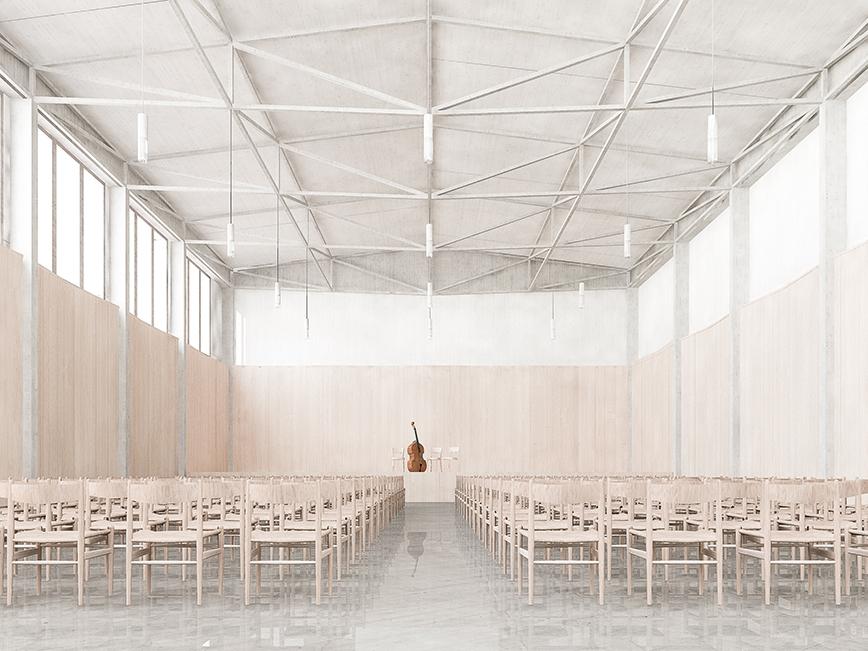 180530_im Saal_Bild für Hasler Maddalena Architekten, Mai 2018